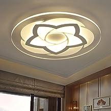 XMZ Vintage Retro Lámpara de techo colgante contemporáneo tonos plafones,40W52cm Color único
