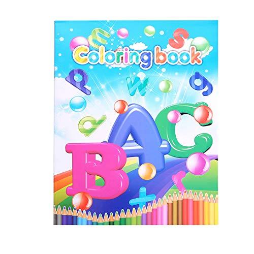 Buchstabe Kinder Zeichnung Bunte Frühkindliche Bildung Puzzle Baby Malerei Cartoon Graffiti Farbe Zeichnung Papier Spielzeug Aufkleber