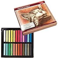 Pastel de tiza, 24tizas de alta calidad en colores vivos, Alto, CL-31| Studio, sintética, Hobby, pintura, manualidades, DIY