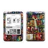 Skins4u Tolino Shine Skin Design Schutzfolie Skins Sticker - Treasure Hunt Ghost Library im edlen seidenmatt