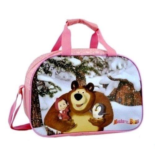 Preisvergleich Produktbild MASHA UND BEAR Bag Sporttasche Fuxia cm . 40x27x23 - R92501