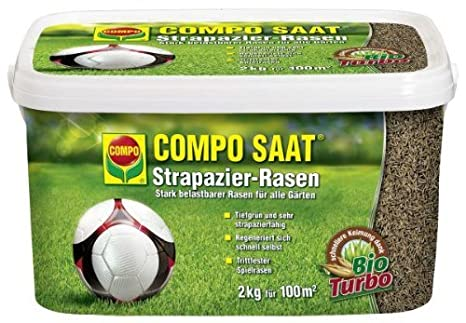 Extremely COMPO SAAT® Strapazier-Rasen, hochwertige Rasensamen-Mischung, für  GZ36