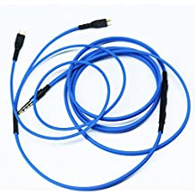 KetDirect Cavo sostitutivo con volume & microfono per cuffie Sennheiser HD25, HD25-1, HD25-1 II, HD25-13, HD25-C, solo Apple iPhone iPod iPad iOS