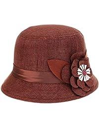 7beab76e5b85d Gorros Sombrero De Playa De Verano Mujer Sombrero De Cubo Bastante para  Sombrero De Paja Sombrero De Verano Sombrero para El Sol…