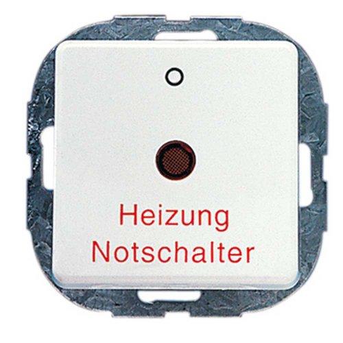 REV Ritter 0501662551 AquaKombi Heizungs-Schalter, weiß -
