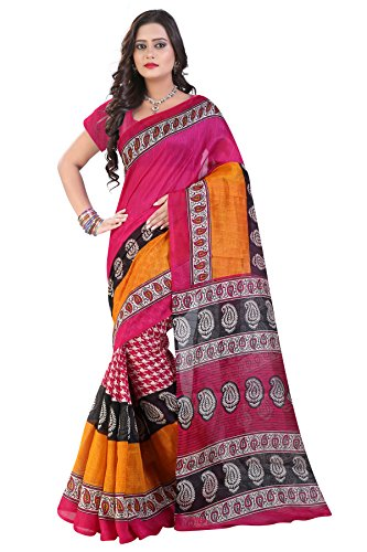 Glory Sarees Cotton Saree (Saree5_Pink)