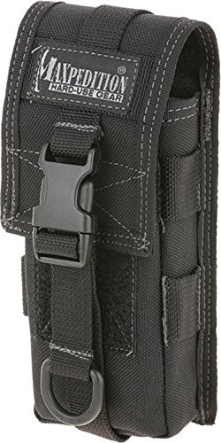 Maxpedition TC-1 Münzfächer, 15 cm, schwarz Case Pouch Holster