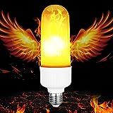 LED Flamme Glühlampe, FengNiao E27 LED-flackernde Flammen-Birnen Energiesparende simulierte dekorative Licht Atmosphären Lampe für Haus, Garten, Partei, Stab, Weihnachten, Festival Dekoration