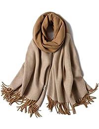 SHFJKA Femme Foulard xxl Automne Hiver Écharpe Cachemire Multicolore longue  châle Épaissi Chaud d hiver e4107fb0a40