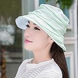 MEI XU Draussen Frauen Breit-Kappe Vielseitige Sonnencreme Floppy Falten Sonnenschirm UV Atmungsaktiv Reise-und Freizeit-Kappen (16 Farben Optional) ## (Farbe : 12)
