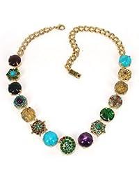 Amaro Halskette Goddess Kali gold türkismix