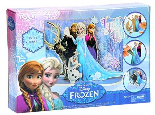 Brigamo FR16901 – Disney Frozen Eiskönigin Filmszene Bastelset aus Holz - 2