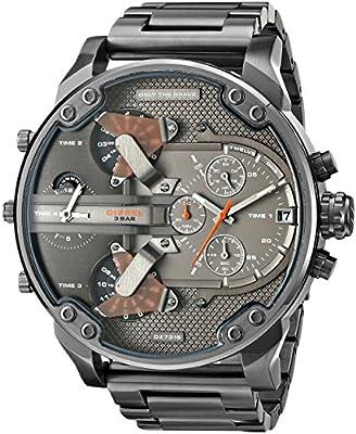 Diesel DZ7315 - Reloj de pulsera para Hombre, negro / gris
