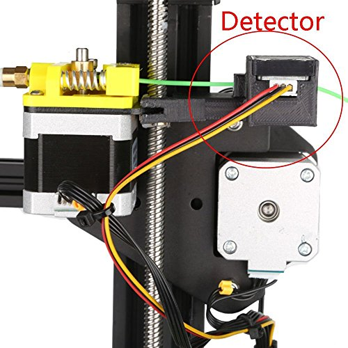 Comgrow Creality CR-10S 3D-Drucker with Filament Monitor Dual Upgrade Lead Screw Z Axis - 3