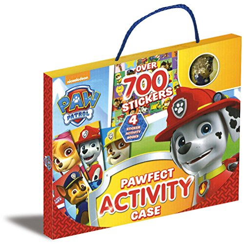 Nickelodeon PAW Patrol Pawfect Activity Case: Over 700 Stickers (On the Go Activity Pack)