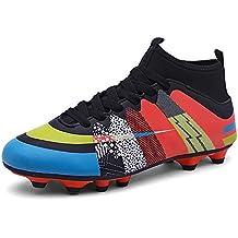 cheap for discount 0f355 eccca Easondea Botas de Fútbol Zapatos de Fútbol Dedicados FG Spike Grapas de  Fútbol Profesional Unisex Niño