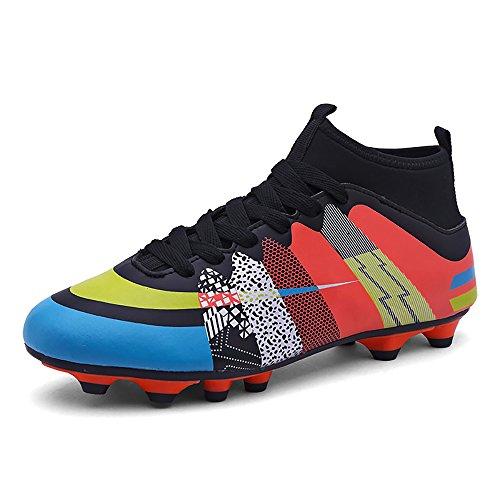 Easondea Botas de fútbol Zapatos de fútbol Dedicados FG Spike grapas de fútbol profesional Unisex niño deportes al aire libre
