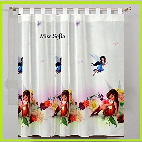 Gardinen TINKERBELL 150B x 157L Kinderzimmer Vorhang DISNEY