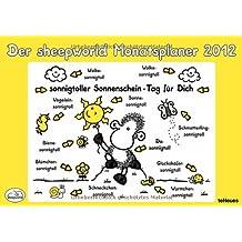 sheepworld Monatsplaner 2012