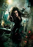 Générique Harry Potter & The Reliques de la Mort ; Partie 2 Bellatrix Lestrange (Helena Bonham Carter) Photo Poster Imprimé 067 (A5-A4-A3) - A4