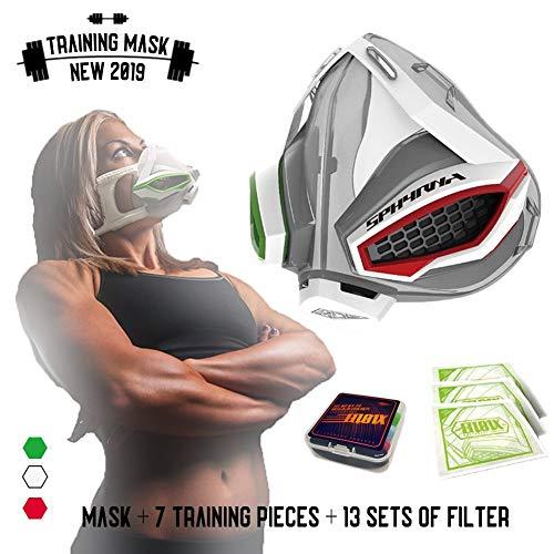 Nwlzx Máscara De Entrenamiento Máscara De Gran Altitud