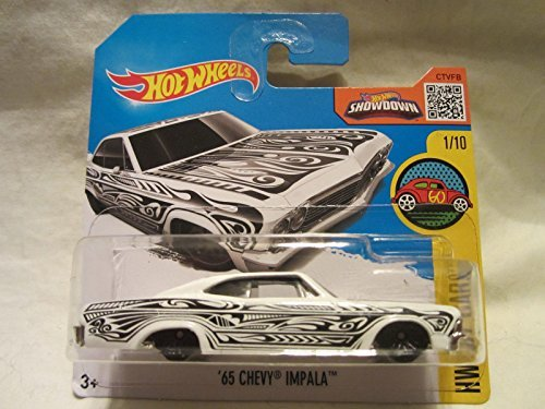 2016 Hot Wheels '65 CHEVY IMPALA HW Art Cars 191/250 (Short Card) by Hot Wheels -