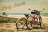 Long Beach, Washington – Beachcruiser, Papier, multi, 24 x 36 Giclee Print