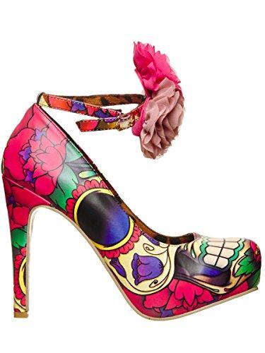 Iron Fist - Lola Mid Afternoon Platform, Scarpe con plateau Donna Rosa