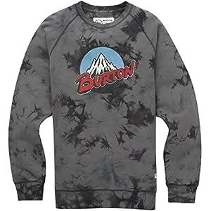 Burton Herren Retro Mountain Organic Crew Sweatshirt