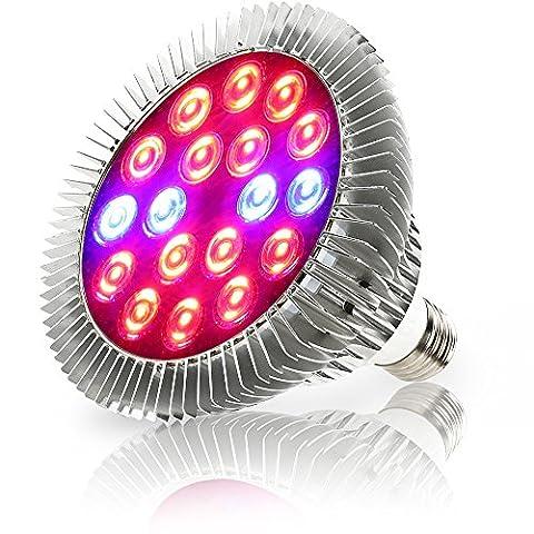 XJLED E27 36W LED Anlage wachsen Lichter Lampe Pflanzenleuchte LED-Pflanzenlampe Pflanzen Tomato Cactus - 4 blau 14