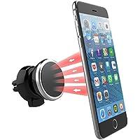 Power Theory Magnet Handyhalterung Auto Lüftung - Magnetische Handy Halterung für iPhone X 8 7 Plus 6s 6 SE 5s 5 Samsung Galaxy S8 S7 Edge S6 KFZ Smartphone Halter Universal Handyhalter Autohalterung