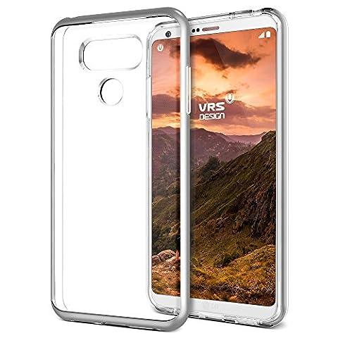 Vente Bourses - Coque LG G6, VRS Design [Crystal Bumper][Argent]