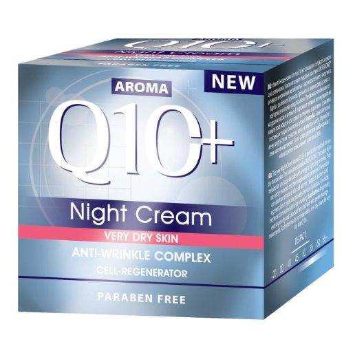 Aroma Visage Peau sèche crème nuit AROMA Q10+ 50ml