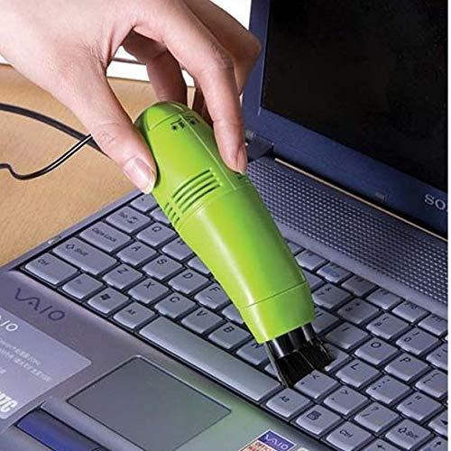 XIAOYANJIA Computer-Tastatur-Reinigungs-Tool USB-Mini-Staubsauger zusätzlich zu Staub Tastatur Pinsel Computer Reinigung Pinselreiniger