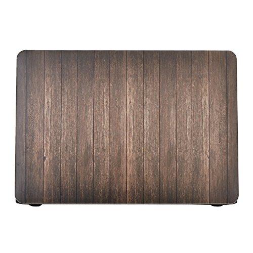 """Preisvergleich Produktbild Forepin® Ultra Slim Coated Plastik Hartschale für Apple MacBook 12"""" with Retina Display (Modell:A1534 Veröffentlicht am 2015) Hard Shell Schutzhülle Tasche im Holz Maserung Design - Farbe 8"""