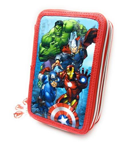 Avengers–Estuche 3cremallera 36pz Disney