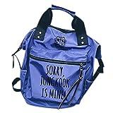 Tomwell Unisex Bangtan Rucksack BTS is Mine Schultasche Bag Reisetasche Notebooktasche Suga Jimin Jin Jung Jook J-Hope Rap-Monster Blau JUNKOOK Einheitsgröße