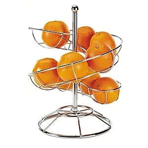 Corbeille à fruits toboggan à oranges MEN131