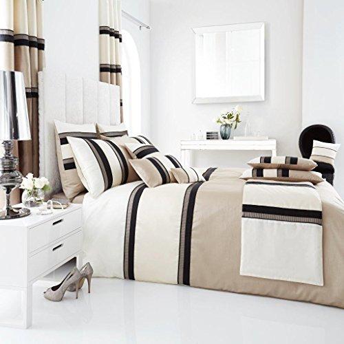 Select-ed® Luxus-Panama-Bettbezugs-Sets / vollständig gefütterte Vorhänge / Kissen / Türverkleidung Bettwäsche-Set (Bettbezug Vollständige)