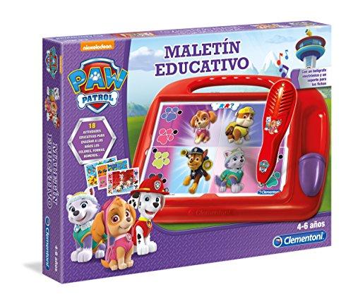 Clementoni - Maletin Educativo Paw Patrol 55169.9