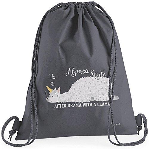 3577179d91f10 Sunnywall Auswahl Turnbeutel Rucksack Sport Beutel Gymsack Alpaka Spruch  Alpaca Fun Premium.