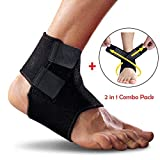 Best Ankle Brace For Runnings - SKUDGEAR 2 in 1 Ankle Support Combo Pack Review