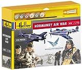 Heller - 53005 - Maquette - 2 Sets De Figurines - Normandie Air War - Mustang, Focke Wulf