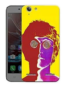 "Humor Gang John Lennon Trippy Printed Designer Mobile Back Cover For ""Lenovo Vibe K5 - K5 Plus"" (3D, Matte Finish, Premium Quality, Protective Snap On Slim Hard Phone Case, Multi Color)"