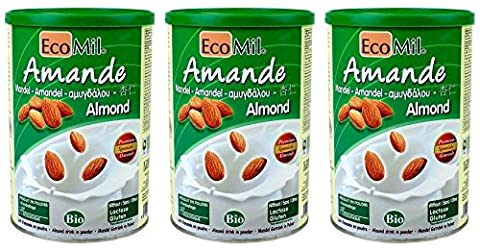 (3 PACK) - Ecomil - Almond Powder | 400g | 3 PACK BUNDLE
