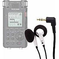 DURAGADGET Auriculares con Cable para el Grabadora Digital Portátil Tascam DR-100MKIII, Tascam DR