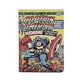 QUOQI Nachttischlampe Marvel Comics Faltendes Drahtloses Buchlicht Avengers LED Kreatives Aufladenbuch Beleuchtet