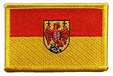 Flaggen Aufnäher Österreich Burgenland Fahne Patch +