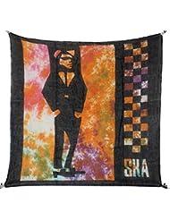 Superfreak® Baumwolltuch mit Ska Muster°Tuch°Schal°100x100 cm°100% Baumwolle°alle Farben!!!