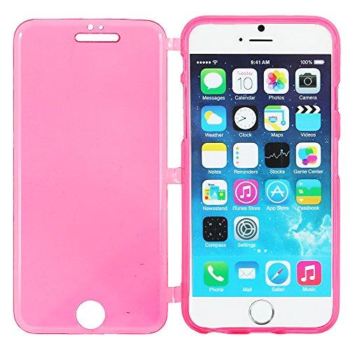 """ebestStar - pour Apple iPhone 6S 6 Plus écran 5,5"""" - Lot x3 Housse Etui Coque Silicone Gel Portefeuille + Stylet tactile + 3 Films protection écran, Couleur Transparent, Noir, Bleu [Dimensions PRECISE Transparent, Violet, Rose"""